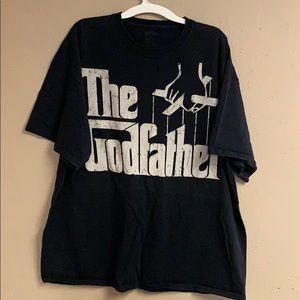 "Men's T-shirt ""Godfather"" size 3X"